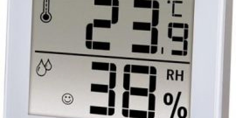Thermo-hygrometer X200 fra Boneco for optimal befugtning